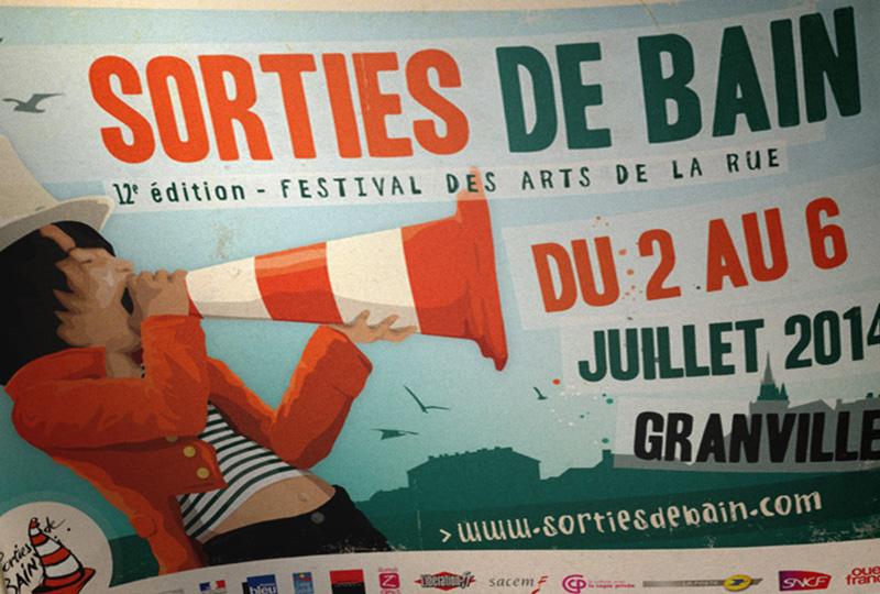 Drapeau Festival Sorties de Bain 2014