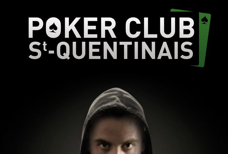 Affiche Poker Club Saint-Quentinais (PCSQ)
