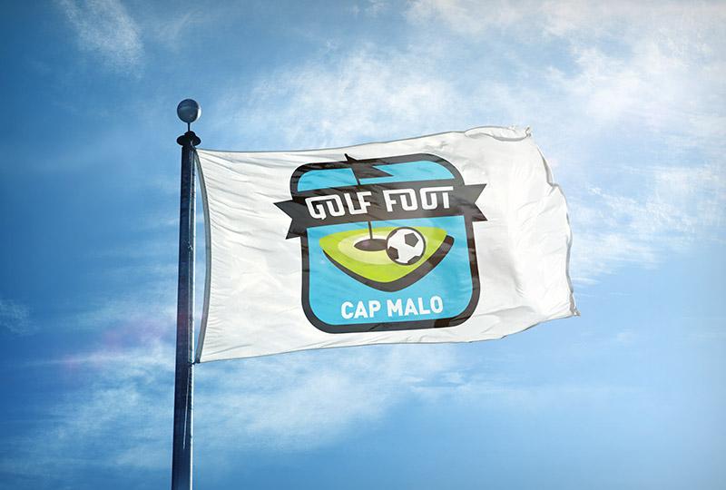 Drapeau Golf Foot Cap Malo