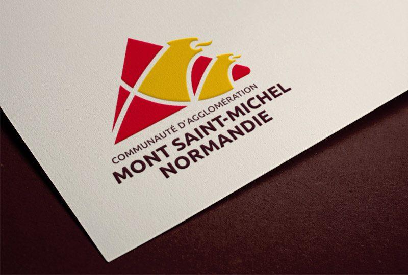 Logo Communauté d'Agglomération Mont Saint-Michel Normandie