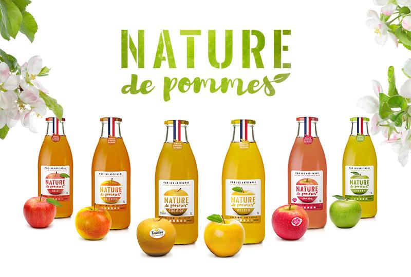 Bouteilles Nature de Pommes