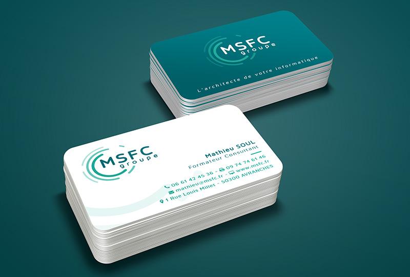 Cartes de visites MSFC