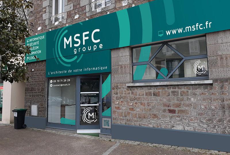 Enseigne et devanture MSFC