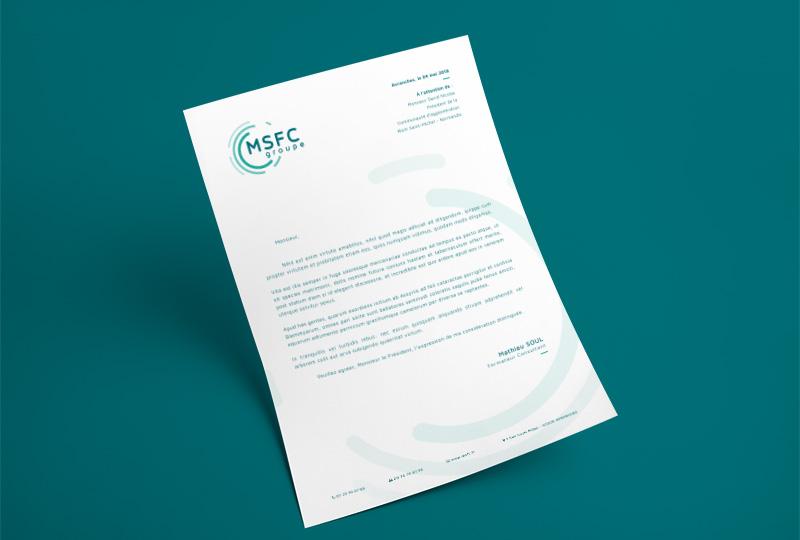 Entête de lettre MSFC
